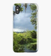 Storm on its way... iPhone Case