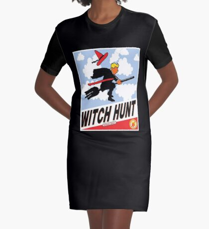 Witch Hunt Trump Treason Edition T-shirts Graphic T-Shirt Dress