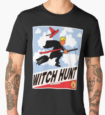 Witch Hunt Trump Treason Edition T-shirts Men's Premium T-Shirt