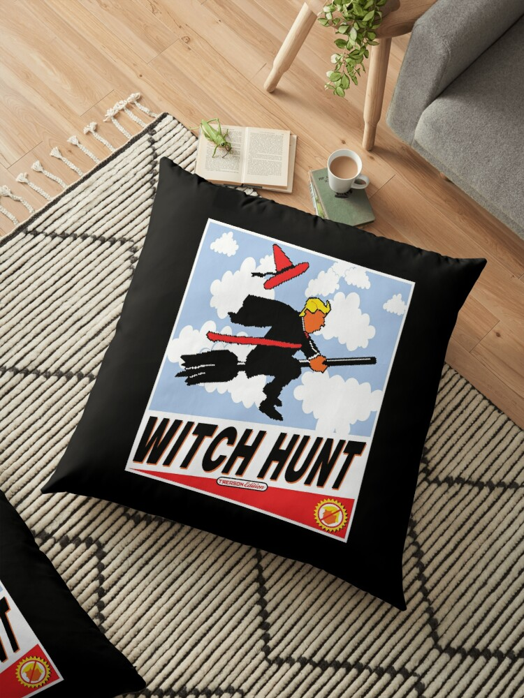 Witch Hunt Trump Treason Edition T-shirts by EthosWear