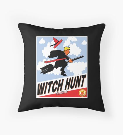 Witch Hunt Trump Treason Edition T-shirts Floor Pillow