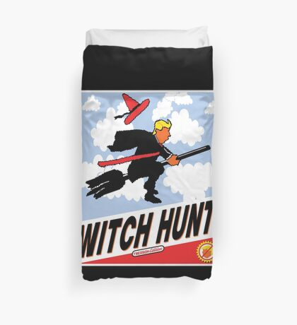 Witch Hunt Trump Treason Edition T-shirts Duvet Cover