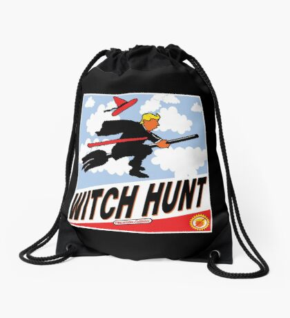 Witch Hunt Trump Treason Edition T-shirts Drawstring Bag