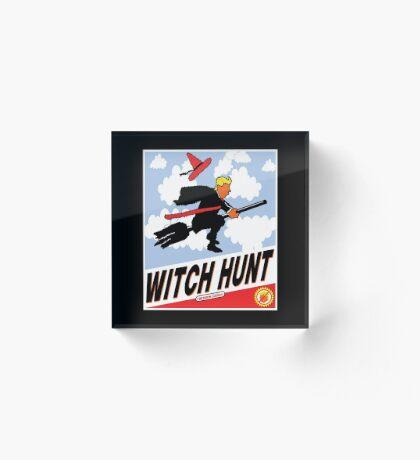 Witch Hunt Trump Treason Edition T-shirts Acrylic Block