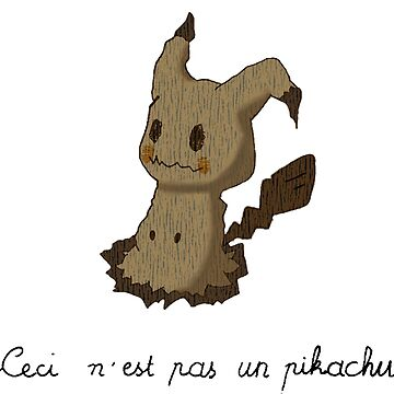 This is not a pikachu by MarjolaineC