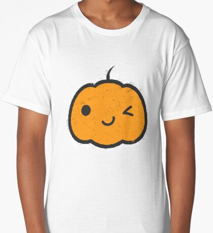 Cool Halloween Pumpkin Long T-Shirt