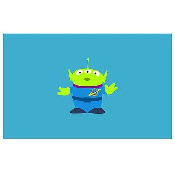 Toy Story Alien by MammothTank