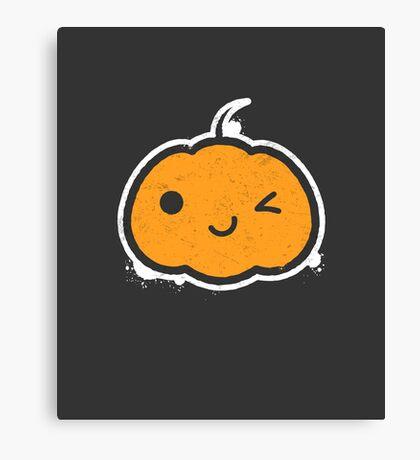 Cool Halloween Pumpkin Canvas Print