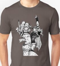 Steel Ball Run - Johnny Joestar and Gyro Zeppeli Unisex T-Shirt