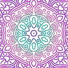 « Mandala en couleur » par Omelia-Plude