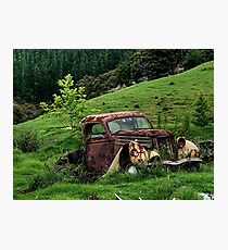 A LOVELY PLACE TO DIE........! Photographic Print