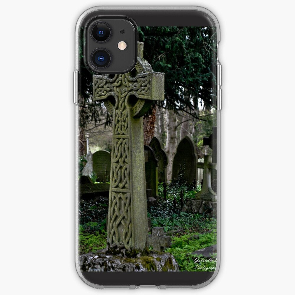 Celtic cross iPhone Case & Cover