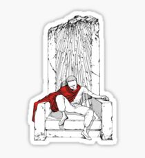 Tetsuo on the Throne Sticker
