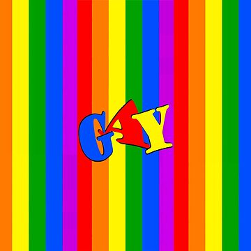 GAY rainbow flag  by Matterotica