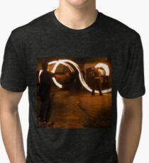 Fireplay 1 - Halloween, Derry 2012 Tri-blend T-Shirt