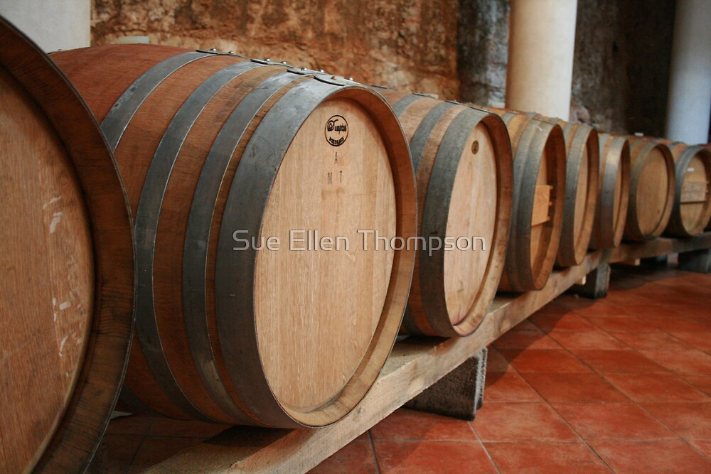 Winery  by Sue Thompson