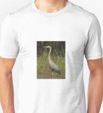 Chippewa Flowage Great Blue Heron Unisex T-Shirt