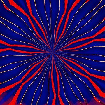 Stars burst by roggcar