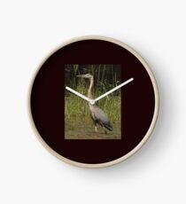 Chippewa Flowage Great Blue Heron Clock