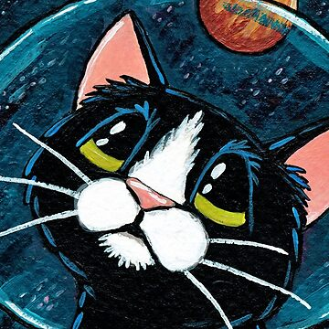 Space Cat: Jupiter's Voyage by LisaMarieArt
