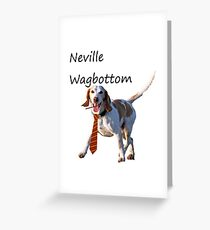 Neville Wagbottom Greeting Card
