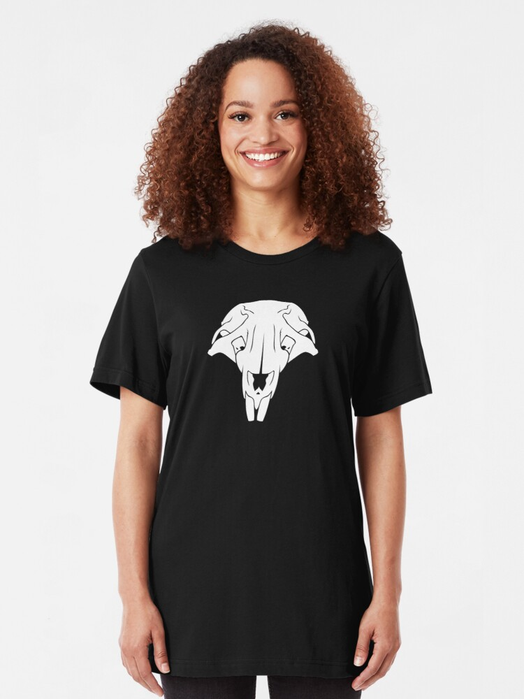 Alternate view of Rat Skull Slim Fit T-Shirt