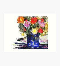 An Arrangement / homage to spring  Art Print