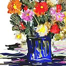 An Arrangement / homage to spring  by bev langby