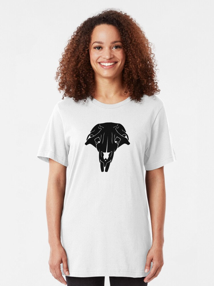 Alternate view of Rat Skull Slim Fit T-Shirt
