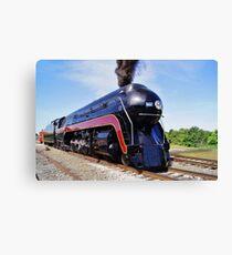 "Norfolk and Western Class ""J"" # 611 Locomotive after restoration Canvas Print"
