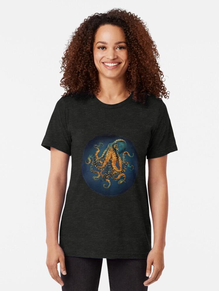 Alternate view of Underwater Dream IV Tri-blend T-Shirt