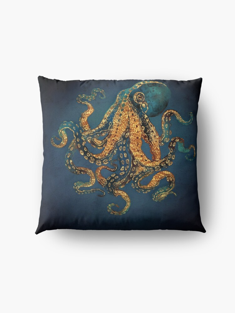 Alternate view of Underwater Dream IV Floor Pillow