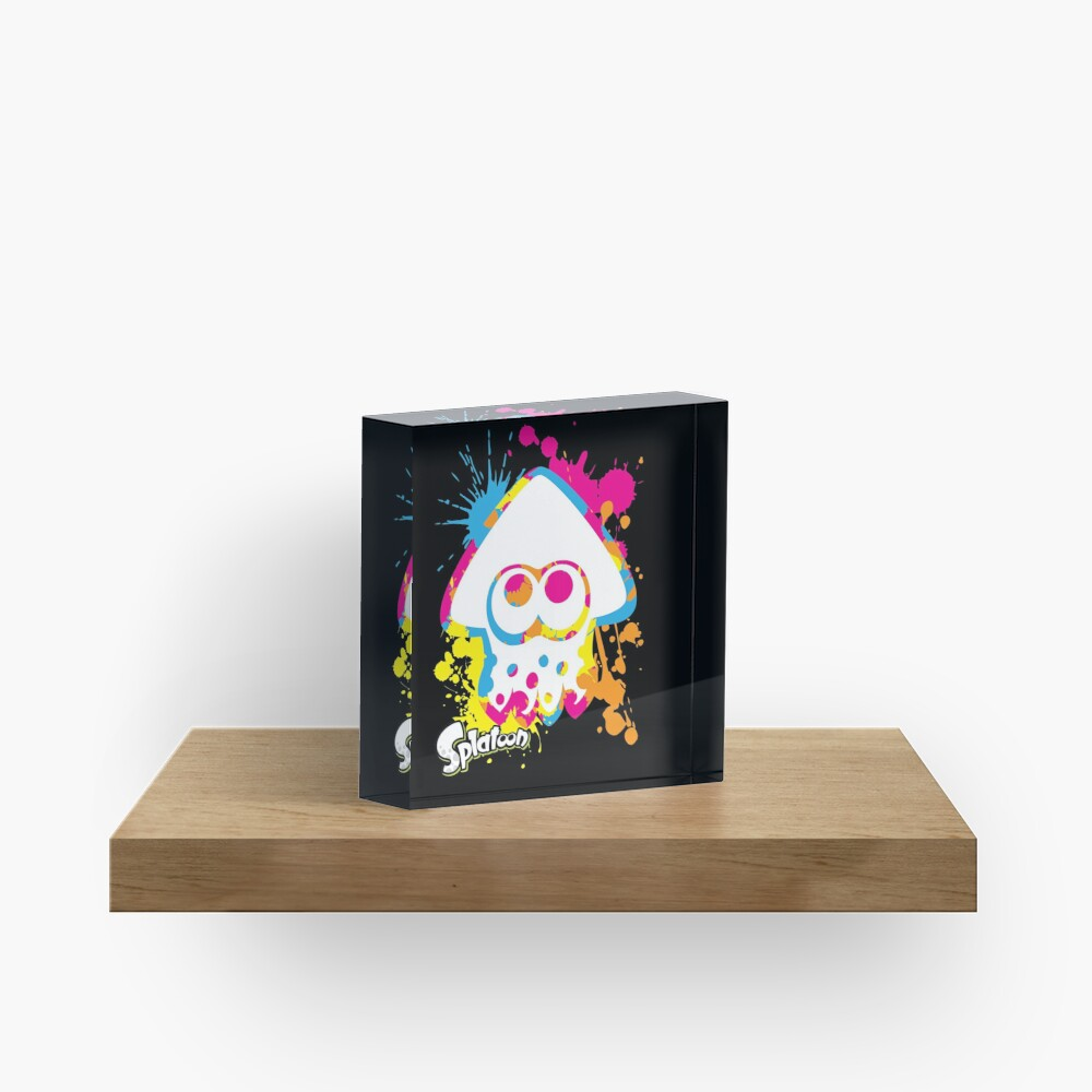 Splatoon Acrylic Block