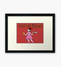 Youtubebound Wade Framed Print