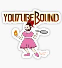 Youtubebound Wade Sticker