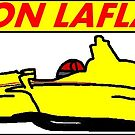 Bryon LaFlair Jr 2018 Brickel's IndyCar Sticker by TheJoeDonohue