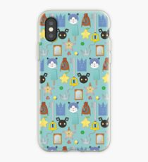 Kingdom Hearts Icons iPhone Case