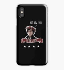 Sherlock on a case iPhone Case