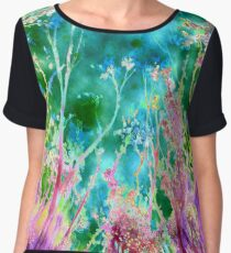 Tree Fantasy Chiffon Top