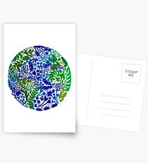 The Earth Laughs in Flowers Postcards