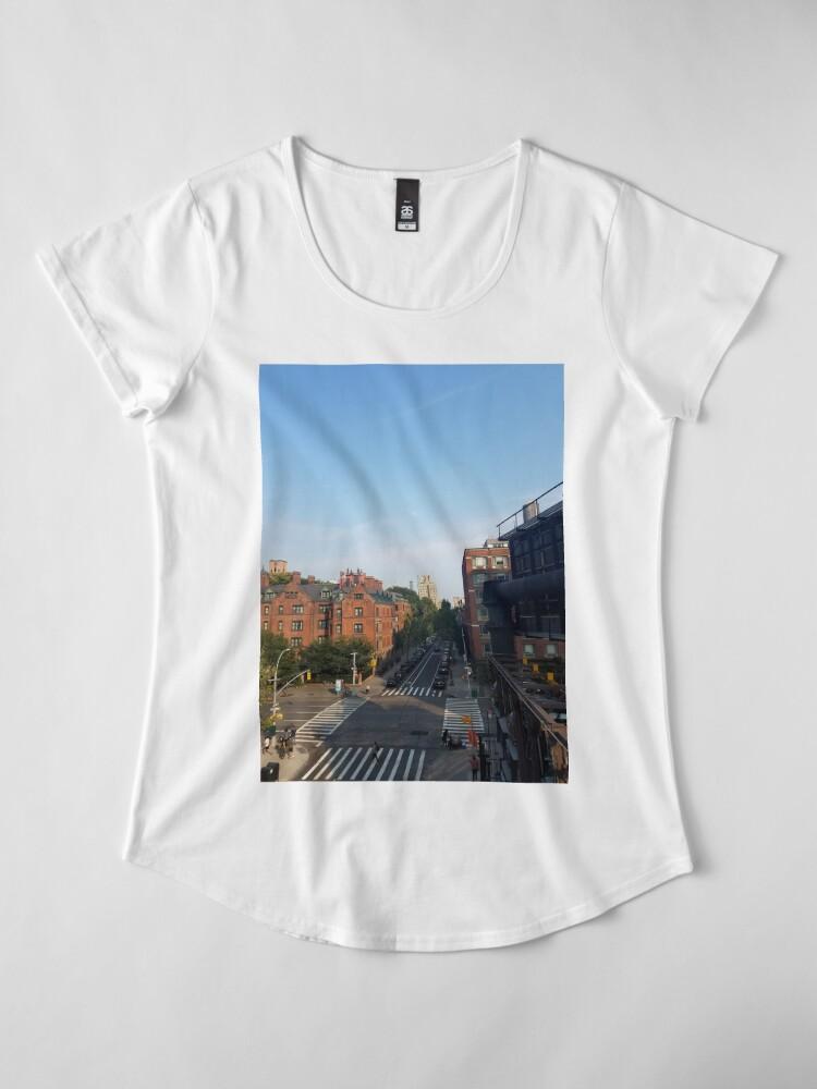 Alternate view of city_3 Women's Premium T-Shirt