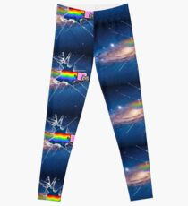 nyancat in space Leggings
