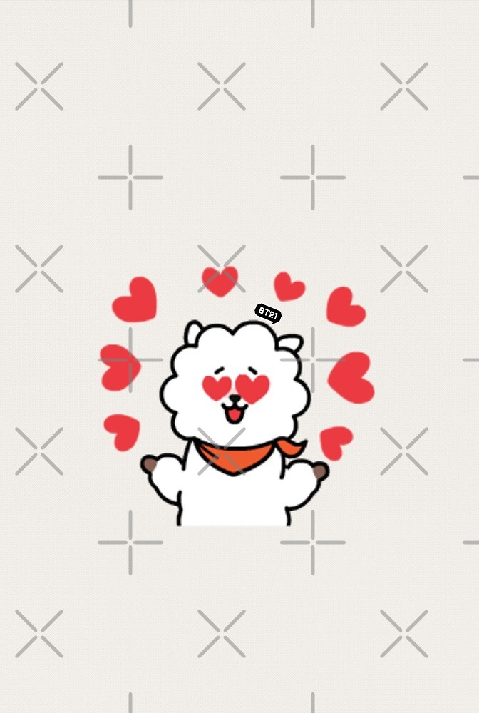 BT21 - RJ (Hearts) by DaydreamExpress