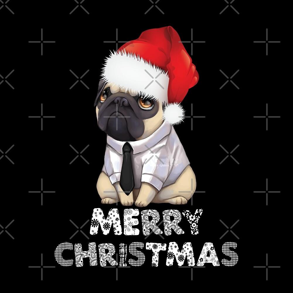 Christmas Pug by URBANBOX