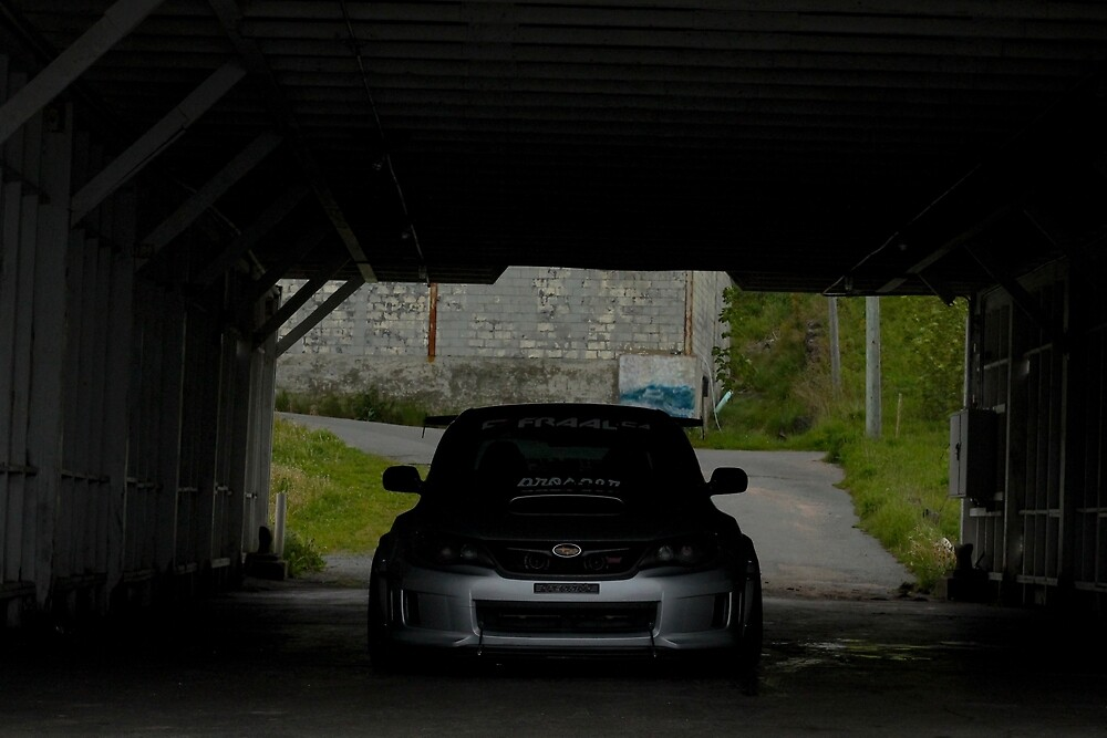 Subaru Sti in Darkness by evans609