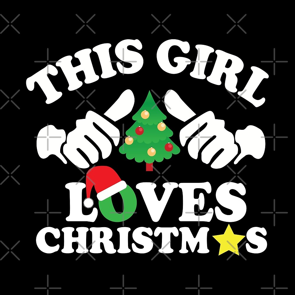 This Girl Loves Christmas by URBANBOX