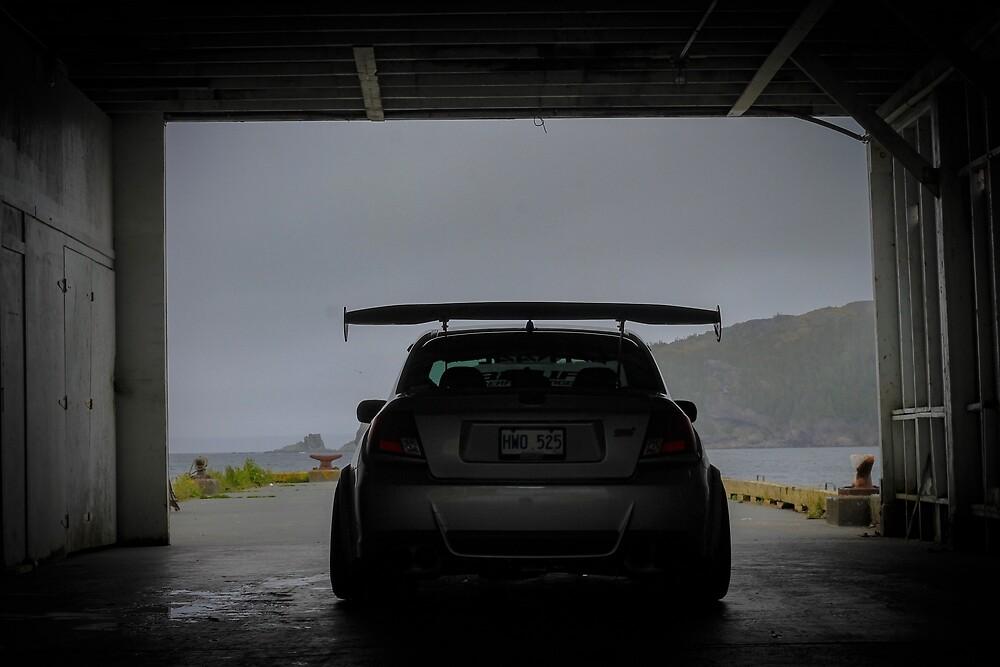 Subaru Sti Rear Shot  by evans609