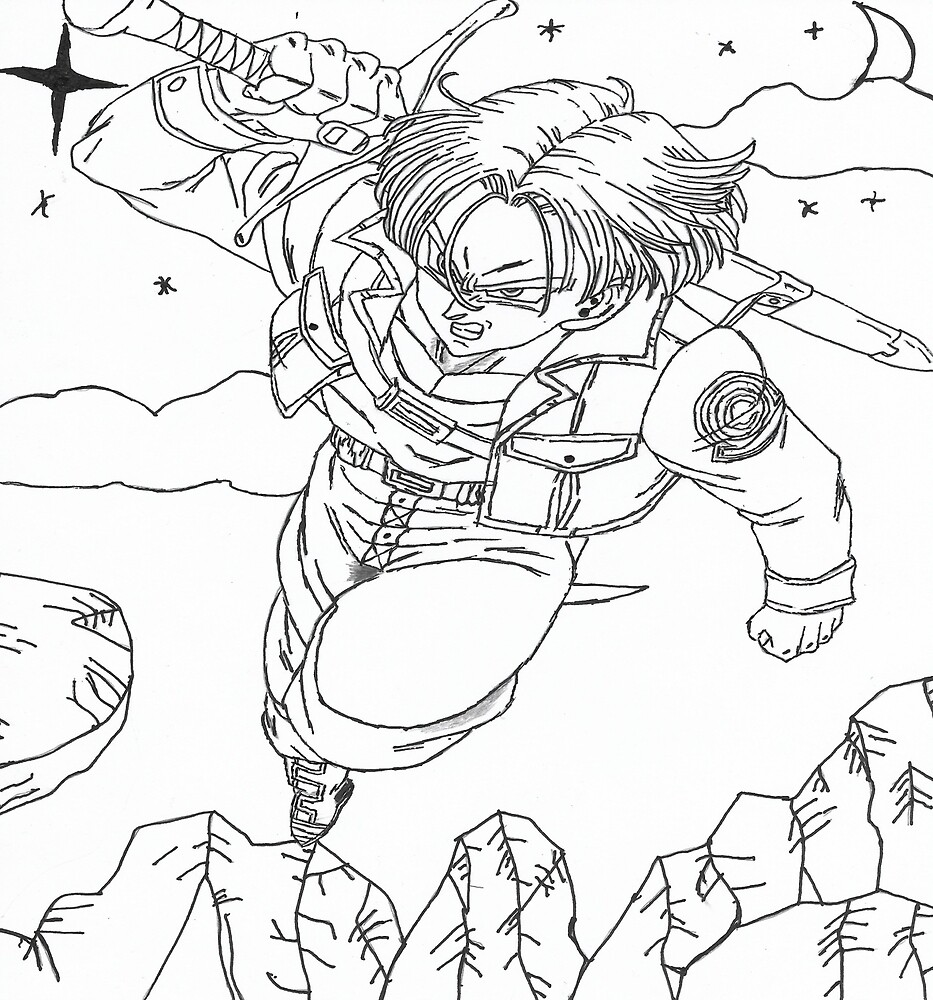 Teen Trunks Sketch by JKSOLO
