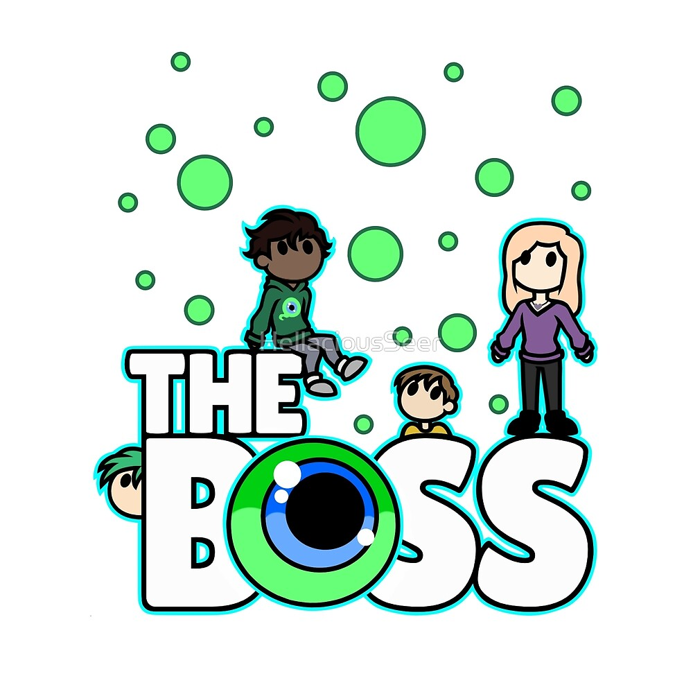 The Boss - Possepticeye by HellaciousSeer