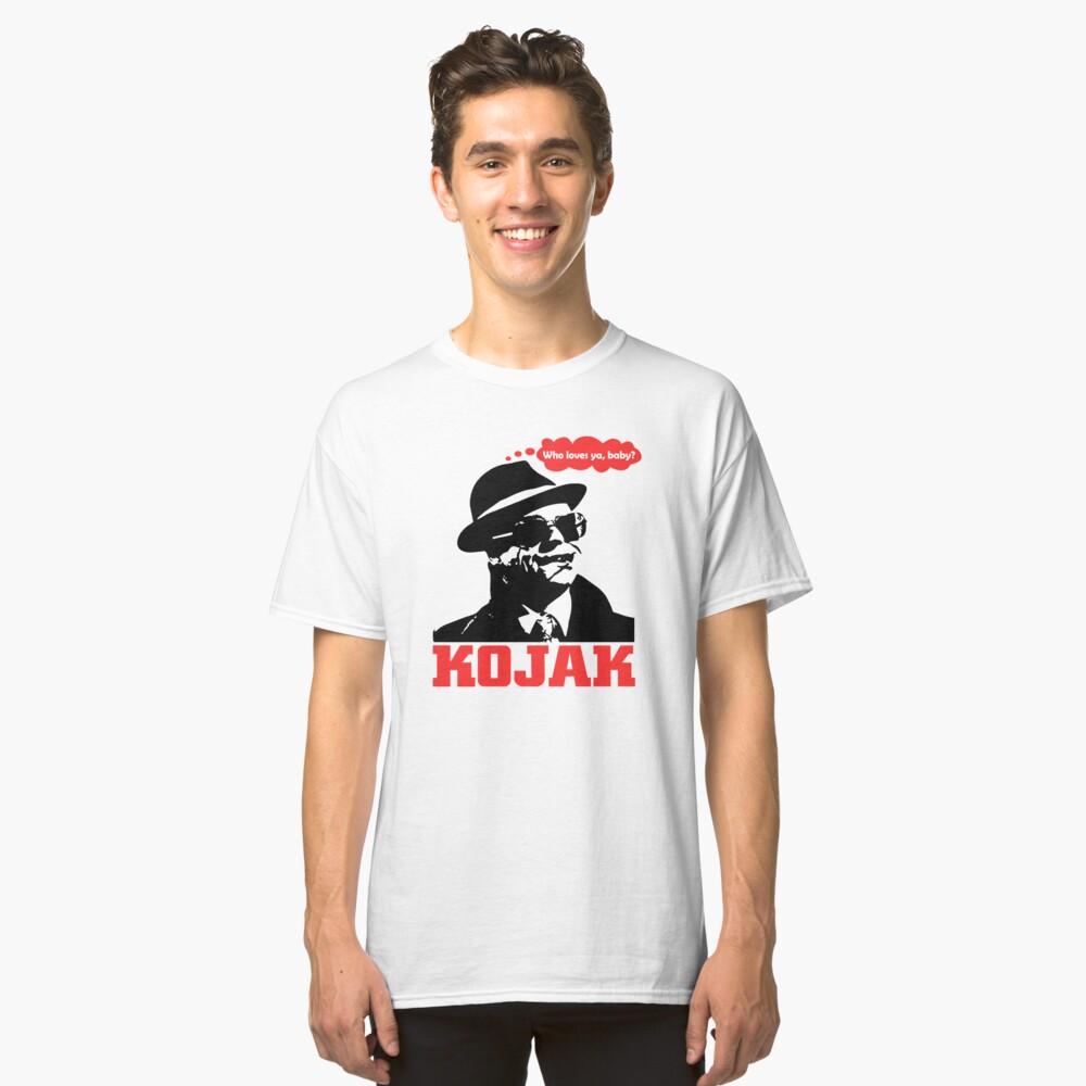 Kojak Classic T-Shirt Front